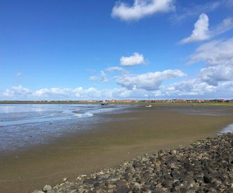 """Ein Privatmann startet jetzt eine neue Fähre auf die Nordseeinsel Juist. Der """"Töwerland-Express"""" benötigt nur 45 statt 90 Minuten wie die Frisia-Fähren"""