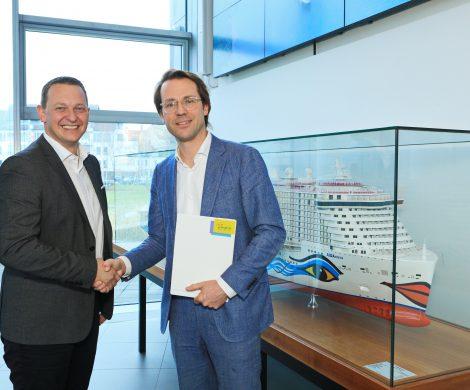 Die Rostocker Kreuzfahrtreederei AIDA Cruises hat die Kooperation mit dem Klassikfestival Festspiele Mecklenburg-Vorpommern um weitere drei Jahre verlängert.