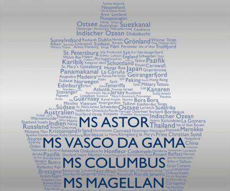 Der neue Katalog von TransOcean Kreuzfahrten für die Saison 2019 bis 2021 ist in den Reisebüros. Auf 318 Seiten werden die aktuelle Flotte sowie die zahlreichen Routen-Highlights präsentiert. Der neue Katalog von TransOcean beinhaltet insgesamt 110 Kreuzfahrten von April 2019 bis April 2021 mit der neuen VASCO DA GAMA sowie der ASTOR.