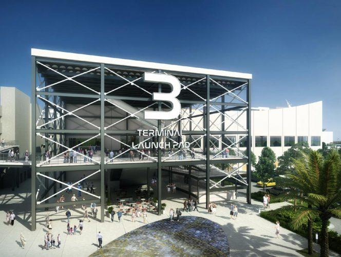 Miami baut ein drittes Kreuzfahrtterminal: Das Launch Pad genannte Kreuzfahrtterminal beherbergt ab 2020 das neueste Schiff von Carnival Cruise Line, die Mardi Gras.