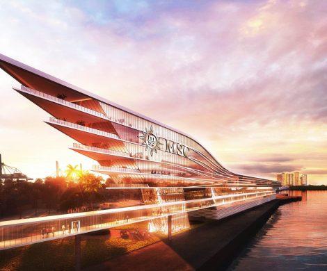 MSC Cruises baut ein neues Kreuzfahrtterminal in Port Miami. Nach aktueller Planung könnten die Bauarbeiten bis Ende 2022 abgeschlossen sein