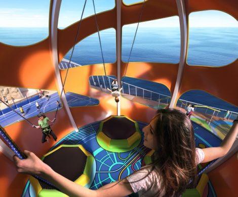 Royal Caribbean hat jetzt das Sky Pad Trampolin-Bungee an Bord zweier Schiffe an Bord geschlossen, nachdem ein 25-jähriger Passagier schwer verletzt worden war