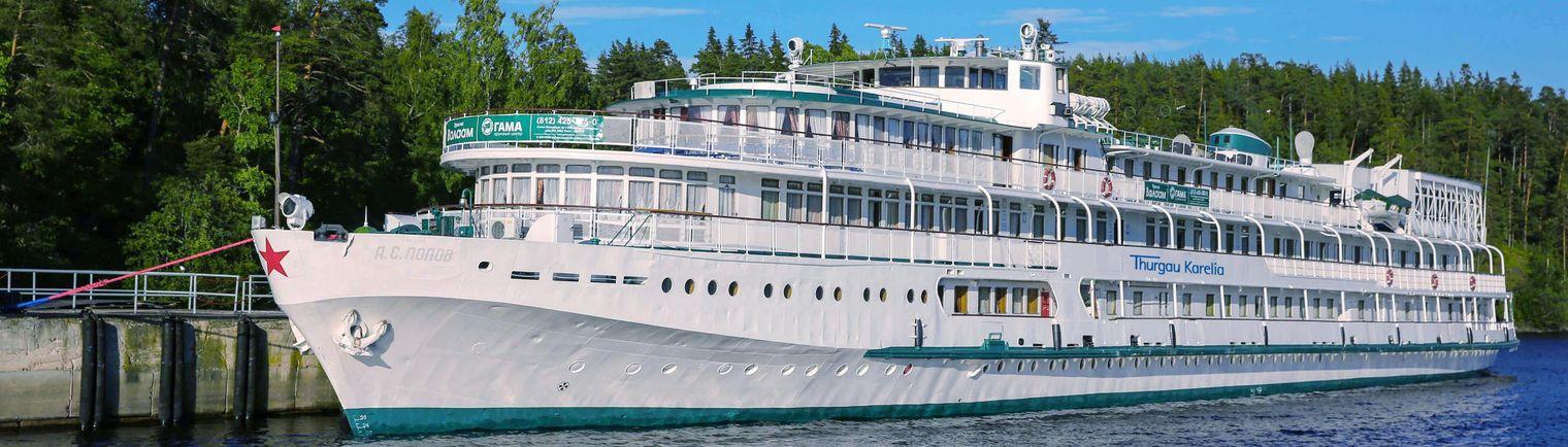 Flussreiseanbieter Thurgau Travel erschließt sich mit Russland ein neues Fahrgebiet und nimmt ein neues Schiff in die Flotte auf. Die MS Thurgau wurde in den vergangenen Monaten umgebaut und in MS Thurgau Karelia