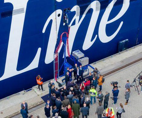 Der Seehafen Kiel hat eine Landstromanlage am Norwegenkai eingeweiht und ermöglicht so emissionsfreie Schiffsversorgung während der Hafenliegezeit.