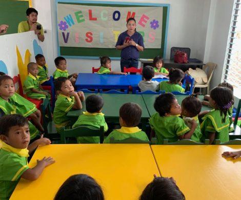 AIDA Cruise & Help hat ein erstes Projekt auf den Philippinen realisiert und weihte in Cebu auf den Philippinen die erste Schule ein