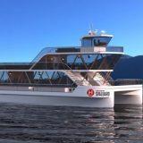 Die norwegische Reederei Hurtigruten baut mit dem Tech-Startup Brim Explorer einen batteriebetriebenen E-Katamaran für Ausflüge