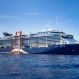Die Celebrity Edge fährt erstmals europäische Häfen an, auf Routen durch das Mittelmeer, mit Abfahrten von Barcelona und Rom bis Ende Oktober 2019