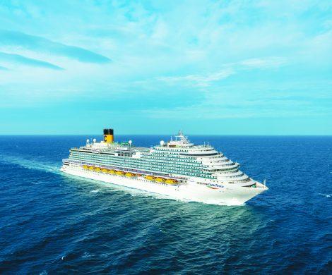 Costa Firenze heißt das neue Costa Schiff, das im Oktober 2020 in den Dienst gestellt wird - ein 135.500 BRZ Schiff mit einer Kapazität für 5.200 Gäste