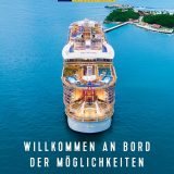 Royal Caribbean International (RCI) hat seinen Katalog 2020 in Deutschland veröffentlicht. Große Neuheit: Das Trinkgeld wird bei allen Fahrten zukünftig in den Verkaufspreis inkludiert