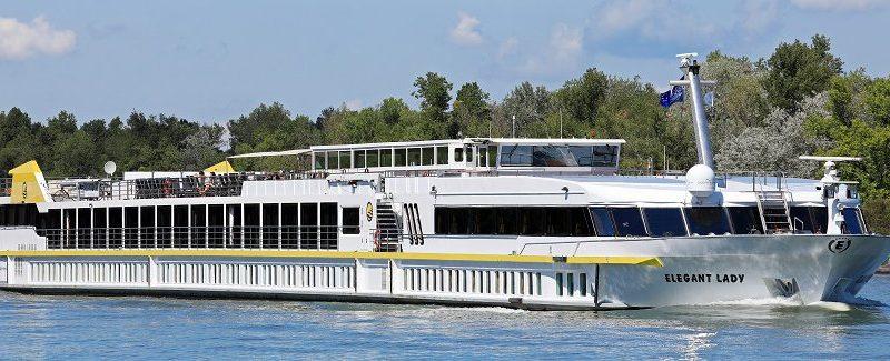 """Plantours legt in der Saison 2020 mit mehr Flussreisen und dem ersten eigenen Neubau ab, der """"Lady Diletta"""", die in den Niederlanden gebaut wird"""