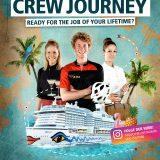 Mit der Videoreihe Crew Journey sucht AIDA Cruises neue Mitarbeiter in den sozialen Medien: Leben und Arbeiten an Bord potenzieller Bewerber wird gezeigt