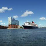 Die Queen Mary 2 feiert am 16. Juni in Hamburg eine einzigartige Love Story: Vor 15 Jahren verliebte sich eine Stadt in ein Schiff, als am 19. Juli 2004 die Queen Mary 2 Hamburg erstmals anlief