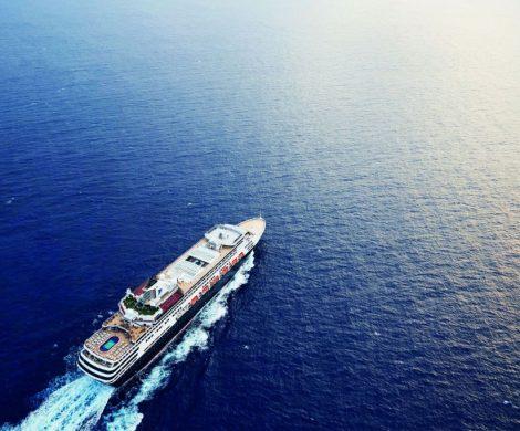 Annett Louisan wird am 9. Juni 2019 das neue Flaggschiff von TransOcean Kreuzfahrten, die VASCO DA GAMA, in Bremerhaven taufen.