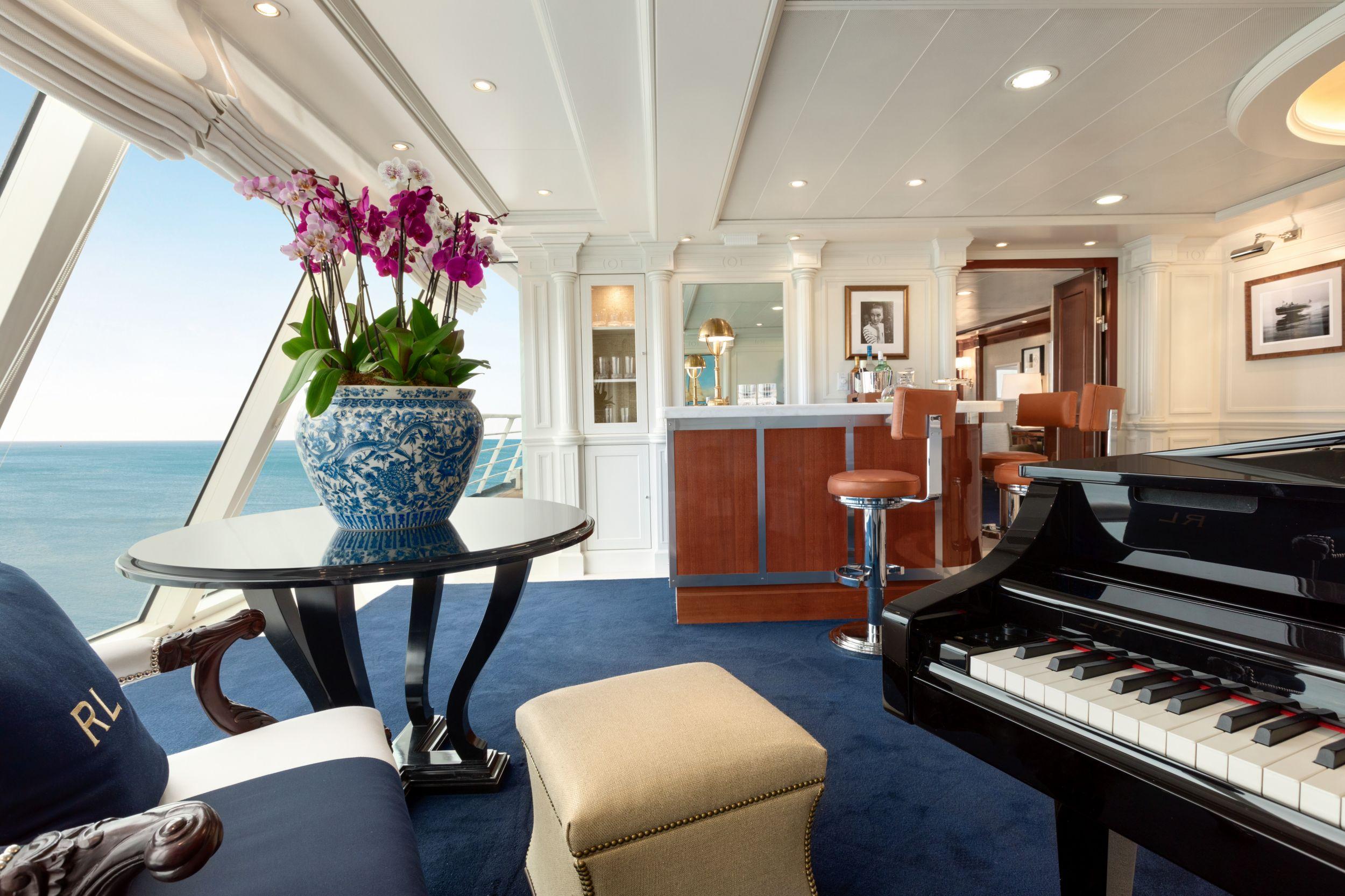 Die 200 Concierge-, 244 Veranda-Kabinen sowie 124 Penthouse Suiten der Riviera von Oceania Cruises wurden umfassend renoviert und neu ausgestattet