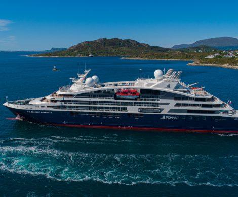Die Le Dumont-d'Urville wurde offiziell und planmäßig von der VARD Group an PONANT übergeben. Damit ist der Neuzugang das vierte Schiff der PONANT Explorer Serie, das innerhalb der vergangenen zwölf Monate zur Flotte der Kreuzfahrtreederei dazu gestoßen ist.