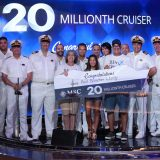 MSC Cruises feierte einen Meilenstein in der Unternehmensgeschichte: An Bord der MSC Seaside in Miami wurde der 20-millionste Kreuzfahrer begrüßt.