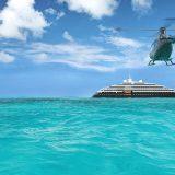 Die Scenic Eclipse, das erste Hochseeschiff der Reederei Scenic Luxury Cruises hat ihre finalen Sea Trials beendet und wird planmäßig ausgeliefert