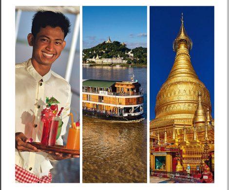 """Geoplan Privatreisen legt mit seinem neuen Katalog """"Flusskreuzfahrten in Asien"""" das aktuelle Programm für 2019/20 vor. Neben dem Angebot an Flusskreuzfahrten auf dem Mekong in Vietnam, Kambodscha und Laos sowie auf dem Irrawaddy in Myanmar umfasst das Programm mit dem Chao Praya und dem Ganges ab sofort auch Thailand und Indien."""