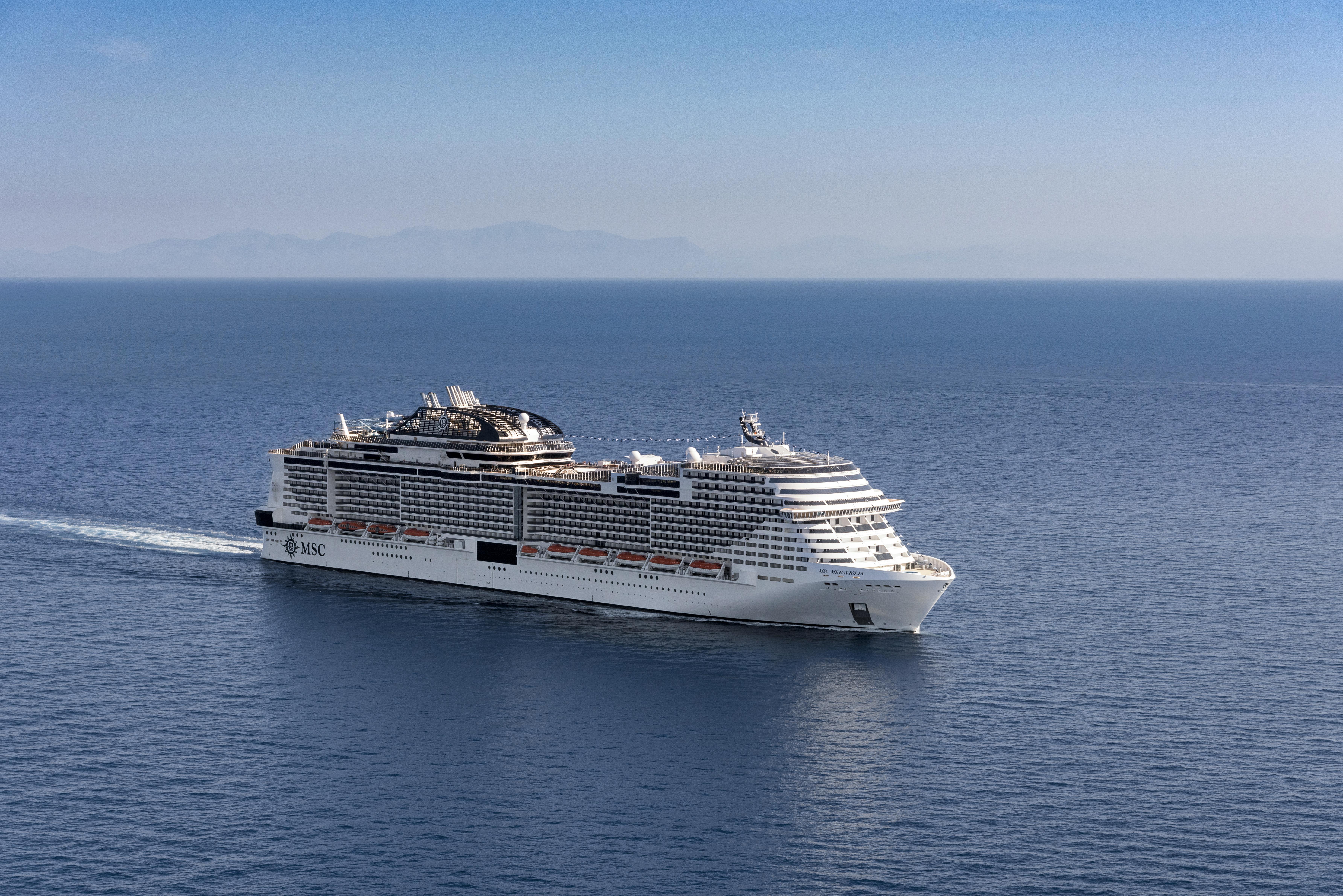 Im Skagerrak zwischen Norwegen und Dänemark ist eine deutsche Urlauberin von Bord des Kreuzfahrtschiffes MSC Meraviglia gefallen und verstorben