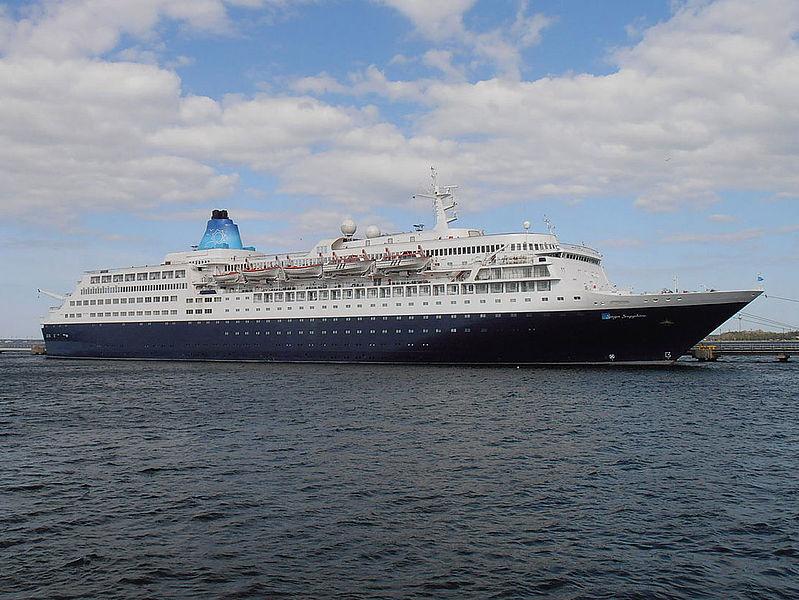 Anex Tours hat die 1981 erstmals als MS Europa ifahrende Saga Sapphire gekauft und will das Schiff ab Sommer 2020 auf Türkeikreuzfahrten ab Antalya nutzen