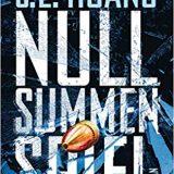 Rezension Buch Nullsummenspiel von S. L. Huang aus dem Heyne Verlag, rasanter SciFi-Krimi-Mix mit Hauptperson, die Mathematik als Waffe nutzt. Gutes Debüt.