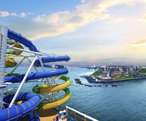 Nach umfangreichen Modernisierungsmaßnahmen sticht die für 116 Millionen US-Dollar renovierte Freedom of the Seas von Royal Caribbean International ab dem 8. März 2020 von San Juan, Puerto Rico, aus für siebentägige Kreuzfahrten in die südliche Karibik.