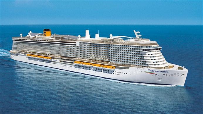 Aufgrund von Bauverzögerungen kommt die Costa Smeralda erst am 30. November, und nicht wie geplant im Oktober - Kreuzfahrten vor dem 30.11. fallen aus