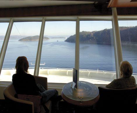Um Fahrgästen mit Handicap das Reisen an Bord ihrer Schiffe so angenehm wie möglich zu machen, bietet Color Line jeweils neun rollstuhlgerechte Kabinen an.