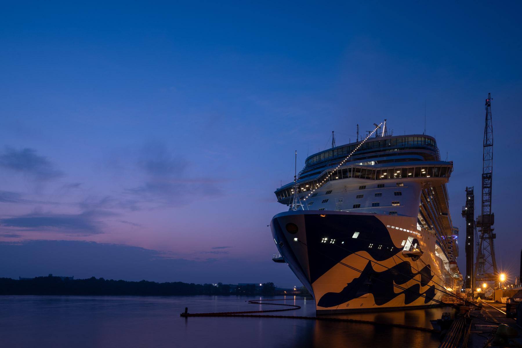Die Sky Princess, viertes Schiff der Royal Princess-Klasse, das von Fincantieri für Princess Cruises gebaut wurde, wurde jetzt ausgeliefert.