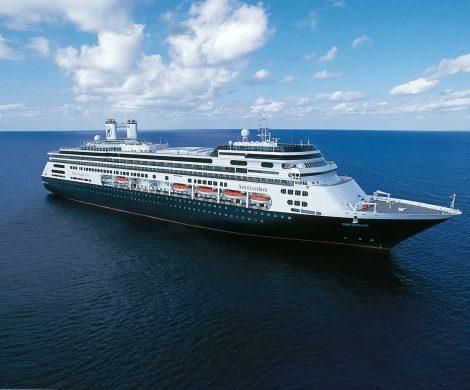 128 Tage dauert die Grand World Voyage der MS Amsterdam von Holland America Line, mit Station in mehr als 20 Ländern und 49 Häfen. Gäste erleben auf der Reise gleich 35 UNESCO- Welterbestätten.