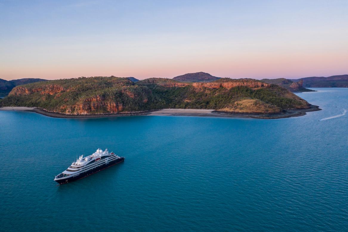 Ponant bietet Expeditionskreuzfahrten in die australische Region Kimberley mit ihrer unglaublichen biologischen Vielfalt und unberührten Meeresumwelt