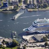 Die aus der Kreuzschifffahrt in Rostock-Warnemünde und Mecklenburg-Vorpommern generierten Umsätze betrugen 45,9 Millionen Euro im Jahr 2018.
