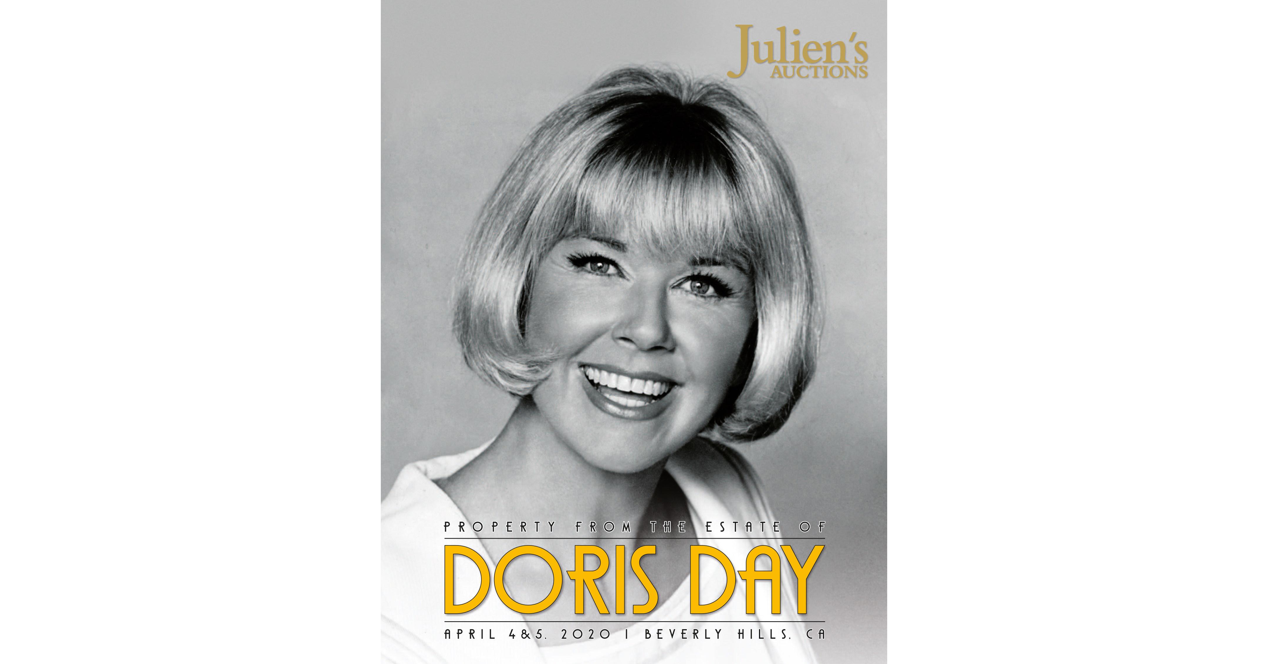 Gemeinsam mit Julien's Auctions präsentiert die Reederei Stücke aus dem Nachlass der Schauspielerin Doris Day an Bord der Queen Victoria