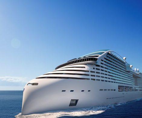 Das erste Kreuzfahrtschiff von MSC, das mit LNG (Flüssiggas) angetrieben wird, soll MSC Europa heißen und mit 205.700 BRZ im Mai 2022 in See stechen