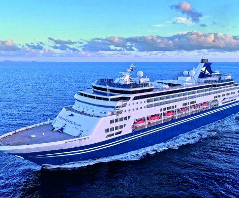 Die PACIFIC ARIA, das Schwesterschiff der VASCO DA GAMA, wird ab dem Sommer 2021 für Transocean fahren und die MS ASTOR ersetzen