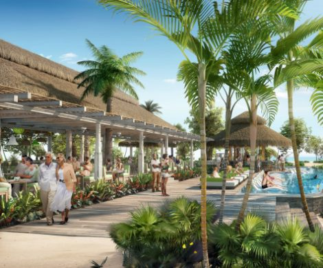 Royal Caribbean International wird 2021 in Antigua den ersten Beach Club der The Royal Beach Club Collection in der Nähe von Fort James eröffnen.