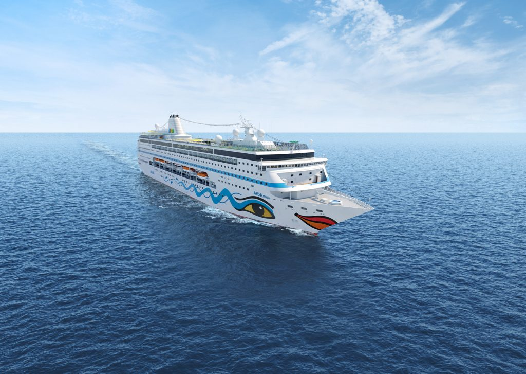 Nach der Absage der ersten beiden Kreuzfahrten der Aidamira will Aida Cruises an den Weihnachtsreisen ab 23. Dezember um Südafrika festhalten.