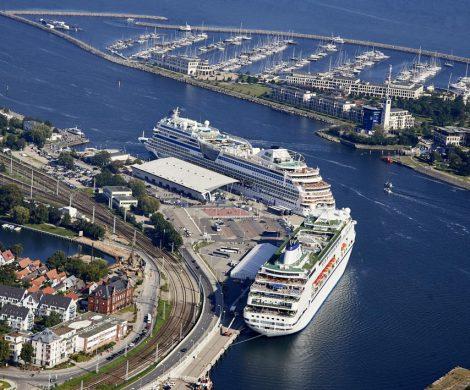 Warnemünde wird im nächsten Jahr 206 Ankünfte von 44 Kreuzfahrtschiffen verzeichnen können. Die Kreuzfahrtsaison beginnt in Warnemünde schon im März
