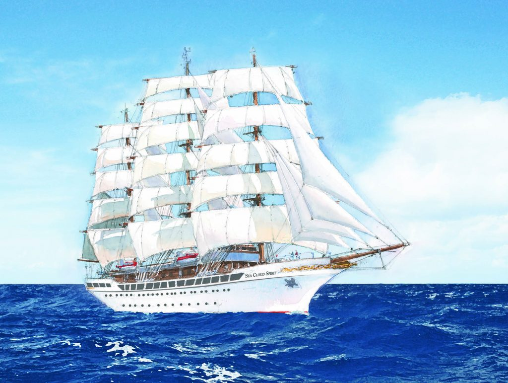 Sea Cloud Spirit wird auf Ende Januar 2020 großer Roadshow vorgestellt, an der auch interessierte Gäste und Endkunden teilnehmen können.