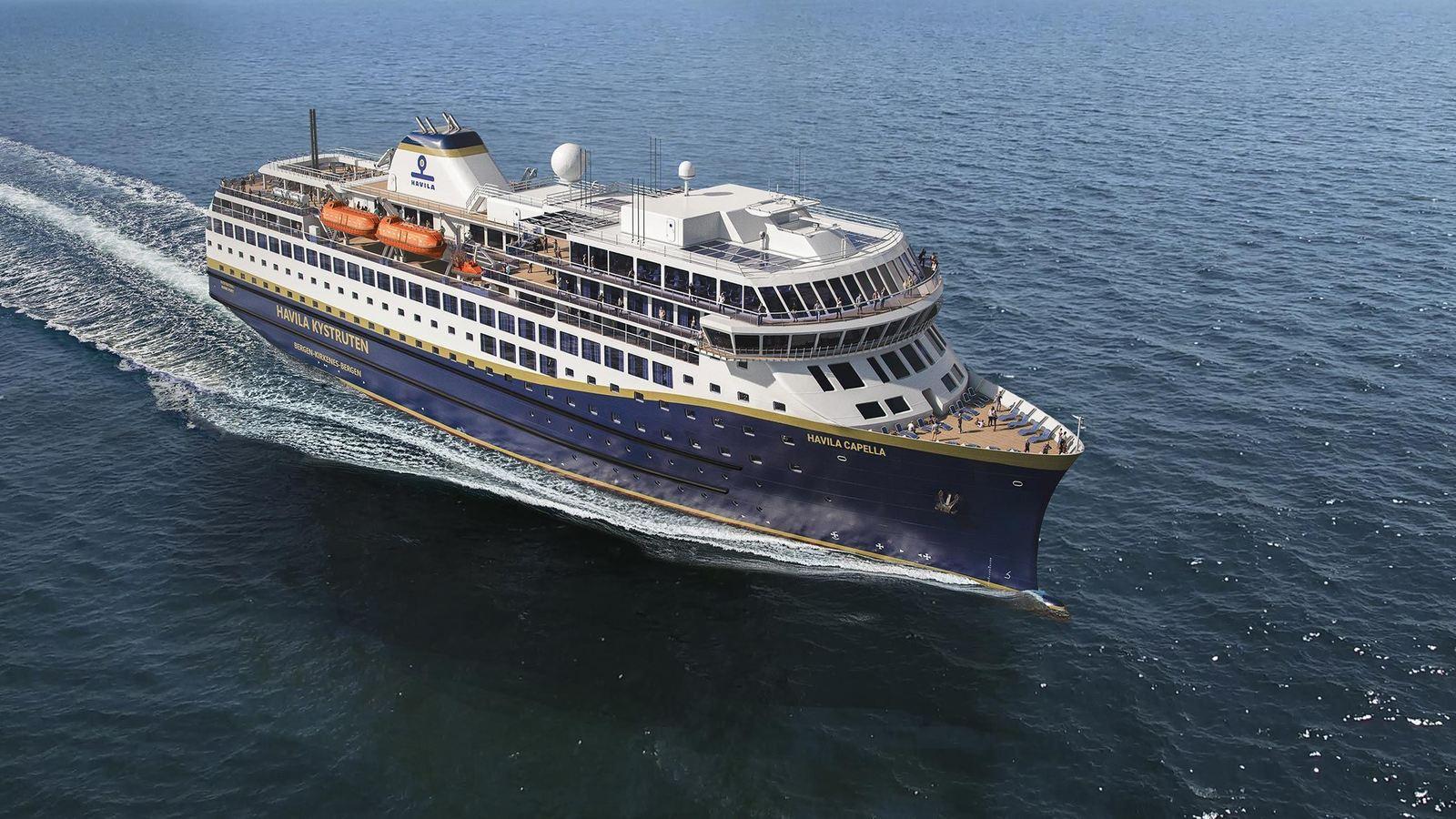 Hurtigruten verliert sein Alleinstellungsmerkmal bei Postschiffreisen in die norwegischen Fjorde, Havila übernimmt vier Strecken mit LNG-Schiffen