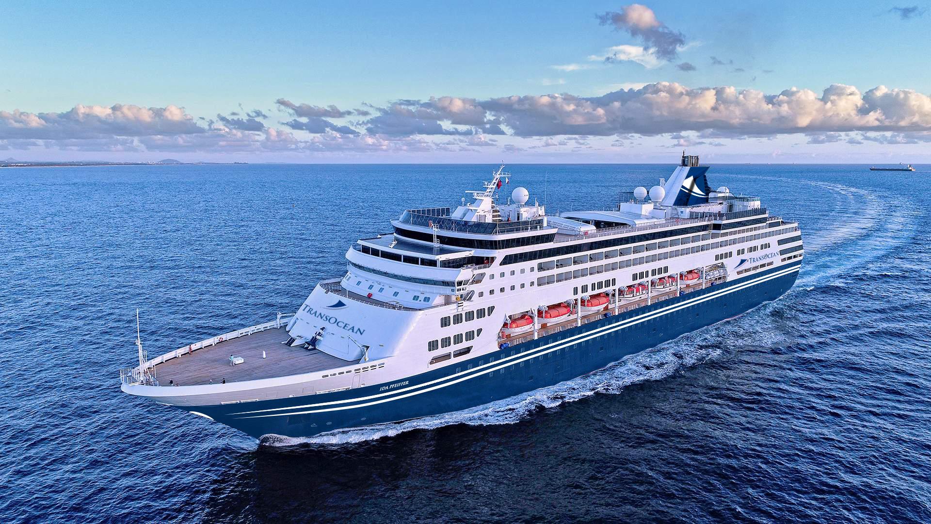 Das neue Schiff von TransOcean Kreuzfahrten, das die Flotte ab Sommer 2021 ergänzt, heißt IDA PFEIFFER, eine Hommage an die österreichische Weltenbummlerin