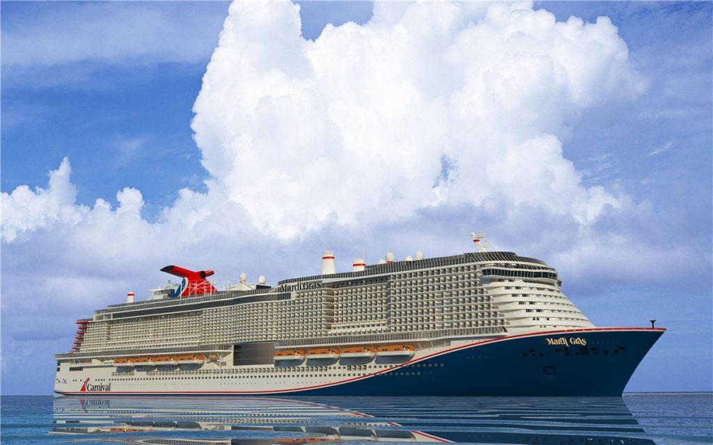 Die Mardi Gras, neuestes Schiff von Carnival Cruise Line kommt später in den Markt als angedacht: Ursprünglich sollte die Mardi Gras eigentlich am 31. August 2020 zum ersten Mal auf europäischen Gewässern in See stechen. Nun gibt die Reederei bekannt, dass der Neubau infolge von Bauverzögerungen erst Monate später ablegen kann. Der neue Termin für die Premierenfahrt des 5200-Passagier-Riesen mit eigener Achterbahn an Bord wird nun auf den 14. November 2020 gelegt.