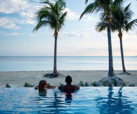 Mit dem Coco Beach Club können sich Gäste von Royal Caribbean International auf der Bahamas-Privatinsel Perfect Day at CocoCay über ein Highlight freuen.