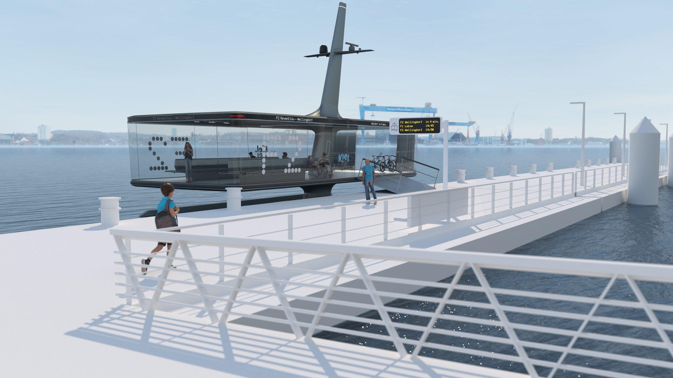 """""""CAPTin Kiel"""" soll den Nahverkehr in der Landeshauptstadt Schleswig-Holsteins revolutionieren und Busse & Fähren intelligent und umweltfreundlich verbinden"""
