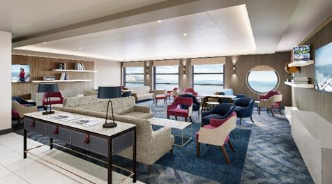 Die Reederei DFDS hat neue Lounges auf ihren Fähren eingerichtet: Die Modernisierungen sind Teil einer Investition in Höhe von 4,6 Millionen Euro