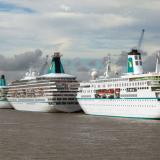Der Bonner Kreuzfahrtveranstalter Phoenix Reisen hat noch vier Schiffe voller Passagiere auf See, die bis zum 18. April in Deutschland eintreffen sollen
