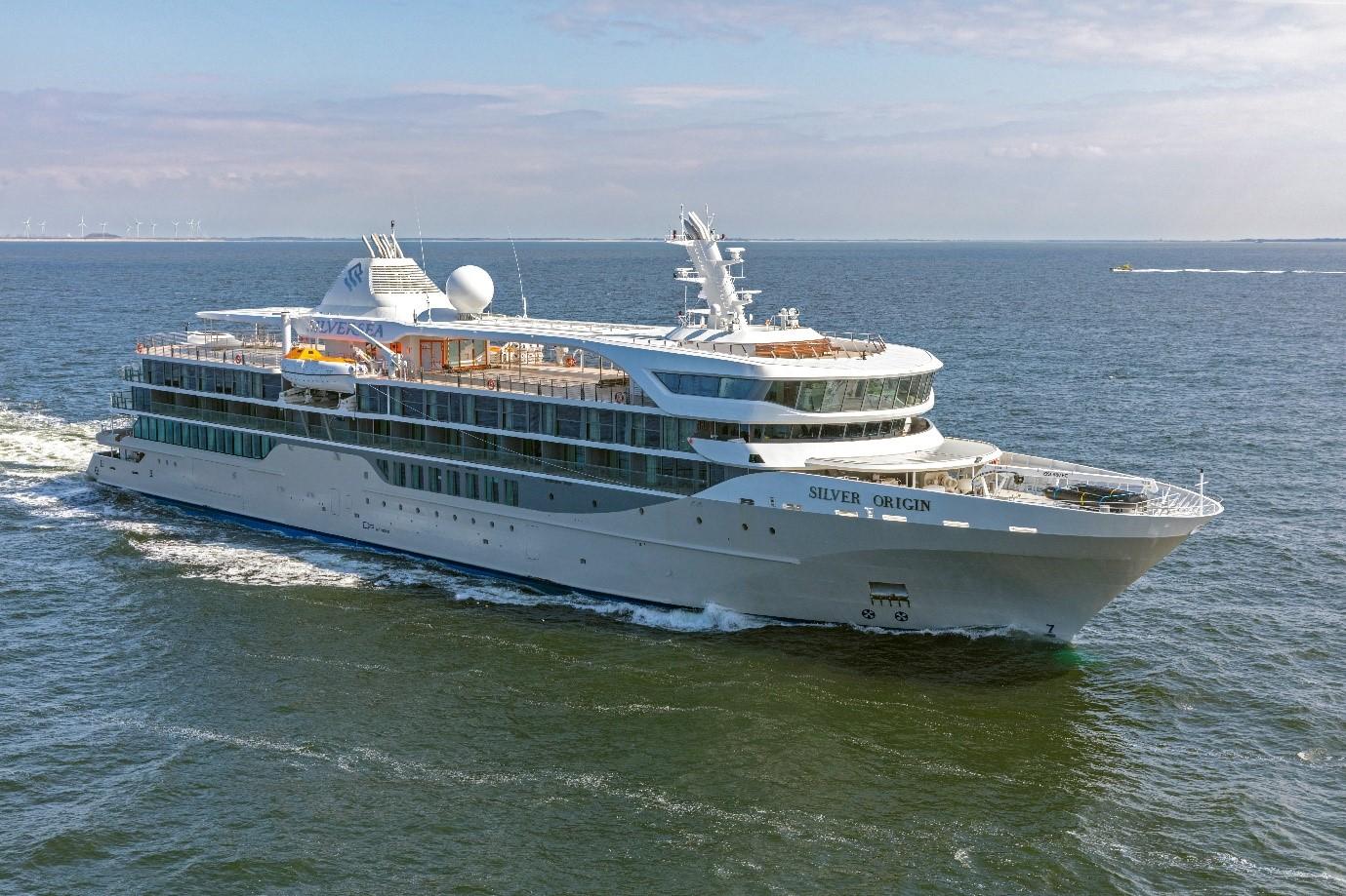 Die Silver Origin, Neubau von Silversea Cruises für den Einsatz rund um die Galápagos-Inseln, hat die ersten Sea Trials mit Bravour bestanden.