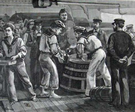 Der Black Tot Day ist für einige Seeleute der schwärzeste Tag in der Geschichte der britischen Royal Navy. Denn der 31. Juli 1970 war der letzte Tag, an dem offiziell Rumrationen an Seeleute der britischen Marine ausgegeben wurden.