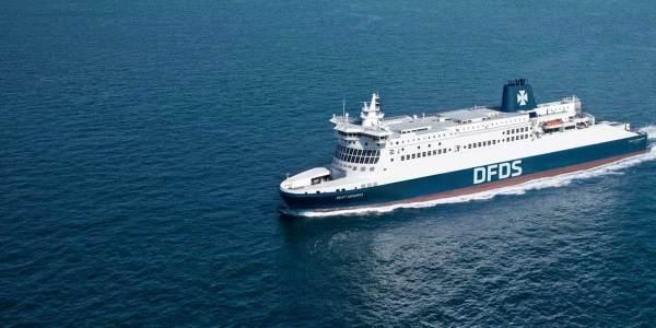 Die Reederei DFDS nimmt einen Teil ihres Fährverkehrs wieder auf: Die Route von Amsterdam nach Newcastle wird ab 15. Juli wieder fahren