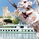 Die französische Reederei CroisiEurope fährt mit der MS Mistral auf Rhône und Saône in schöne Regionen Frankreichs: Burgund und Provence